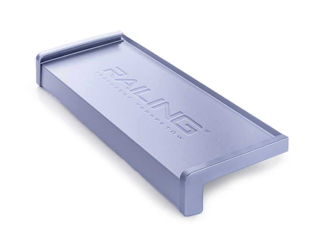 Parapet stalowy srebrny [RAL9006]