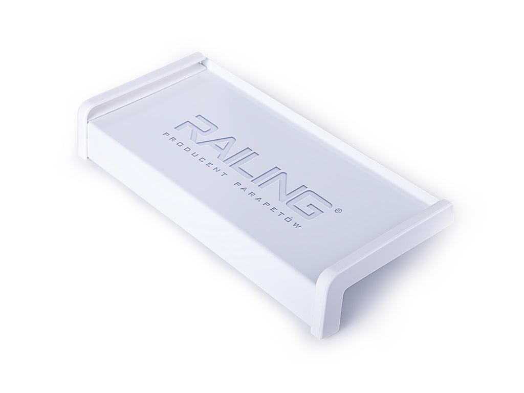 Parapet stalowy biały [RAL9010]