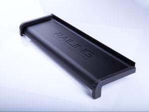 Parapet aluminiowy anodowany | Kolor Brąz