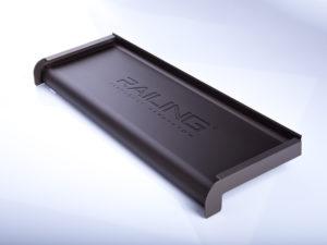 Parapet aluminiowy anodowany | Kolor Oliwka
